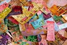 Altered Adventures / A variety of altered objects - collaging, distressing and layers of creativity