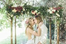 Bohemian Weddings / Ideas for a relaxed and informal bohemian wedding