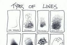 Element of Line / Lessons and Resources for Teaching the Element of Line