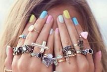NAILED IT / Be festive, be colorful, be funky, be dazzled, be beautiful, celebrate who you are... Find nail ideas here!