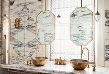 Bathrooms, Powder Rooms, & En-suites / Decor ideas for bathrooms, en-suites, and powder rooms.