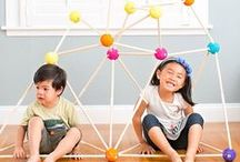 Simple Play Ideas / Fun ideas to keep the kids stimulated and busy at home.