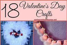 Valentine's Day Crafts / Valentine's Day Crafts