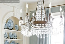 Chandeliers / Proving chandeliers are not just for the extremely formal anymore. Learn how to incorporate chandeliers into a wide range of spaces in your home.