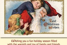 """Christmas Cards by """"Old World Christmas"""" / More Christmas Cards and Glass ornaments at: www.oldworldchristmas.com"""