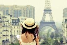 J'aime Paris.... ♥ / .... et quand je suis revenu de Paris, mon cœur n'a pas été le même. Je vais revenir à vous et ne sera jamais repartir!   / by Mrs. LauraQ