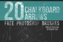 Printables | Templates | Freebies / Cool printables, templates, Photoshop brushes, and more, all for FREE! / by tico♥tina