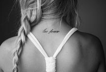 tattoos / by Allegra Woolrage