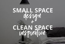 MINIMALIST SPACES / Space inspiration + multi-purpose and efficient products for the minimalist or tiny house lifestyle / It's so easy to get used to the way we do things, the way the products we use are designed, that we fail to realize how many other possibilities there are. This is smarter design.