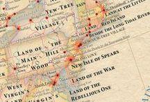 Maps / by Bronwyn Cole