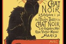 French Art Posters / Posters from the Art Nouveau era.