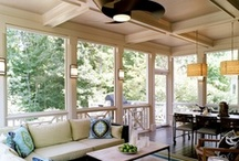 Stylish Ceiling Fans / How to incorporate ceiling fans into all room types - no matter what size, style or shape the room may be!