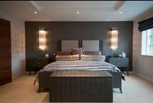 Bedroom Lighting / How to stay on trend and still properly light your bedroom with the use of lamps, chandeliers and sconces!