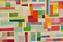 quilt with solid