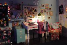 Maiya's Blue Room / Ideas, crafts, colors, ways to organize Maiya's dream room to transition into her tween n teen years