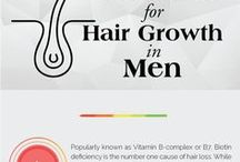 Infographics-Skin & Hair Care / Tips about Skin care and Hair care in form of infographics