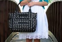 JJ Cole Diaper Bags / Because you'll need something beautiful to distract from all the spit-up on your outfit.
