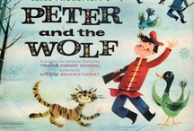 Peter and the Wolf / Highlights from my personal collection of Peter and the Wolf album covers. See more here: http://peterandthewolfgallery.blogspot.com/