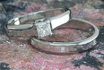 Engagement rings and bridal jewelry / Diamond and color stone rings from antique to modern.