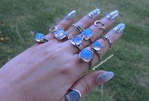 Nails, Jewelry, Glitter Nail Polish / Nails, Jewelry, Nail Polish / by Church House Collection