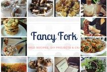 FANCY FORK / From Cake Batter Chocolate Chip Cookies to Garlicy Panko Shrimp, here are posts from my blog, www.Fancy-Fork.com.
