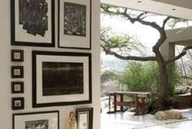 Dream Space / Windows, white, woods, mid century modern, shabby chic...