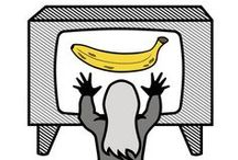 """Peel slowly and see... / aka """"Gone Bananas"""". Inspiration for upcoming VU poster/project..."""