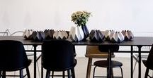 Dining Room / Dining Room ideas! Complete your look at Sherman's!