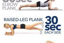 Renforcement musculaire / 4min squat/pompes