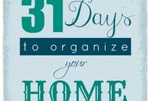 Organization, and Cleaning Tips / The go-to place for all homemaking, organization and cleaning tips for around the house and outside of the house.