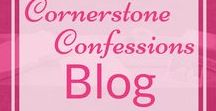Cornerstone Confessions Blog / Keep up with the latest posts on CornerstoneConfessions.Com by following this board.
