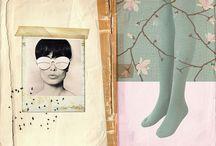 collage & journals / by Gunn Kristin Monsen