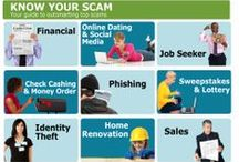 Scam Alerts! / Let BBB help you steer clear of scams in your area! http://www.bbb.org/us/scam-source/ / by BBB Serving Connecticut