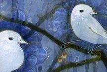 BIRDS IN ART / by Carolyn Avellone
