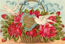Vintage Valentines / Vintage Postcards and Vintage Valentine Items / by Kathy Esz