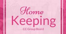 CC Home Keeping / This community board is maintained by readers of CornerstoneConfessions.Com and dedicated to ideas that promote homemaking, home decor, organization, and more from a Christian perspective.  If you would like to contribute to this group board please email Kathy@cornerstoneconfession.com