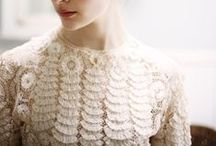 Lace / There is something very elegant about lace. This board highlights lace fashion.