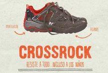 Zapatillas Crossrock JR / Modelos de las zapatillas Crossrock Júnior Quechua. La zapatilla que resiste a todo...incluso a los niños. http://bit.ly/192b4zX
