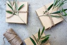 Packaging / Packaging design for gift and product wrapping.