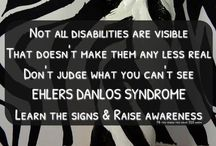 Chronic invisible illnesses / Zebra is the mascot for Ehlers Danlos syndrome and the theme through out my Pinterest boards. On this board you can find pins about chronic pain and chronic invisible illnesses. Feel free to PIN as much as you want!