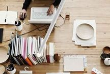 Creative Spaces / Office and craft space inspiration.