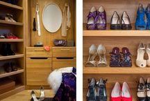 Vanity / bath / closet design / Vanity, bath, and walk-in closet designs