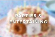 Parties / Entertaining / Find sweet, unique ideas for your next party or family gathering. Party treats and cakes made with Twinkies, Ding Dongs, Zingers, Donettes and other Hostess snacks. / by Hostess Snacks