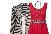Burberry colors / Brown, black, white and red together. Feel free to PIN as much as you want!