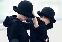 All Dressed in Black / All black ensembles.