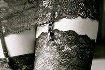 Lingerie, Pretty Not Trashy. / by Anne Sisteron Fine Jewelry