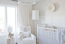 { Nursery } / Nursery, white babies room, neutral nursery ideas