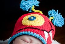 CROCHET Hats with CHARACTER / Cute little Characters for those cute little characters in your life....