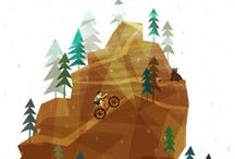 Cycling Illustrations