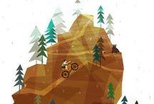 Cycling Illustrations